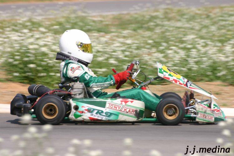 Alba Cano, Karting Sevilla 09