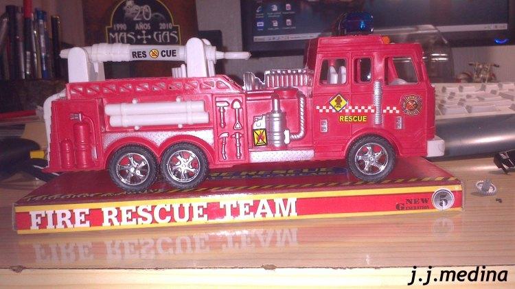 Camión de bomberos chino