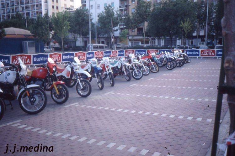 arque cerrado  V Rally Sierra Morena Motos