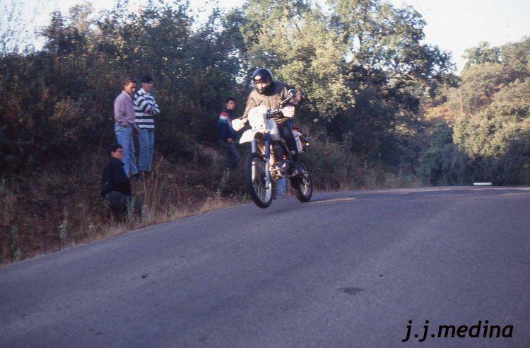 José M Borrel en rasante Posadas SMM 93