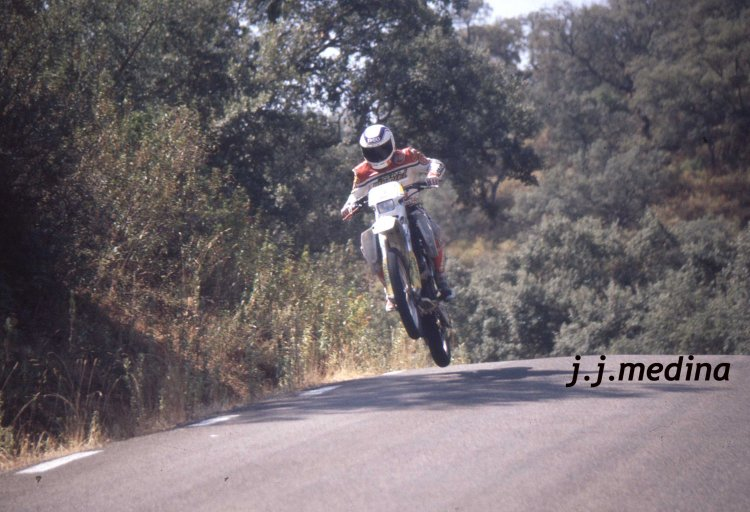 Rasante de Posadas Rallye Sierra Morena Motos 1994