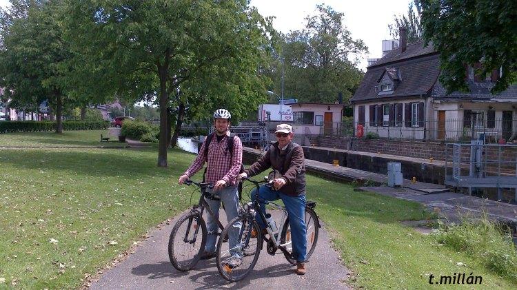 Paseo en bici, Estrasburgo