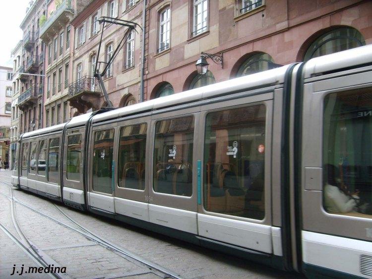 Tranvía en Estrasburgo