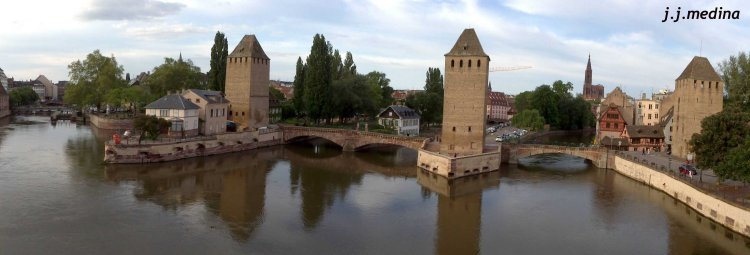 Les Ponts Couverts, Estrasburgo
