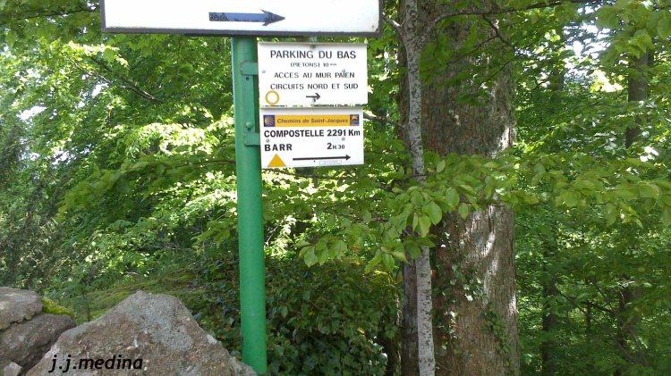 Alredeores del  Mont Sainte Odile