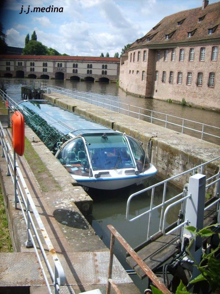 Esclusa río ILL, Estrasburgo
