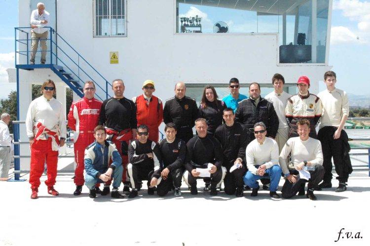 Participantes en Guadix