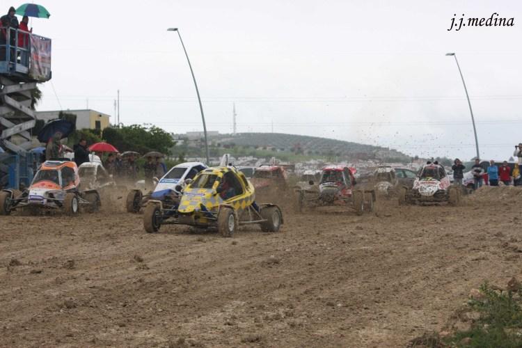 Salida carrera Car Cross en Lucena