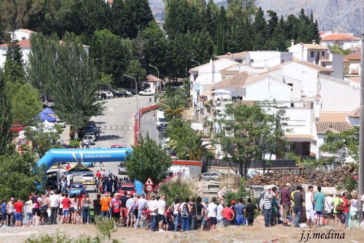 Subida de  Colmenar-Montes de Málaga