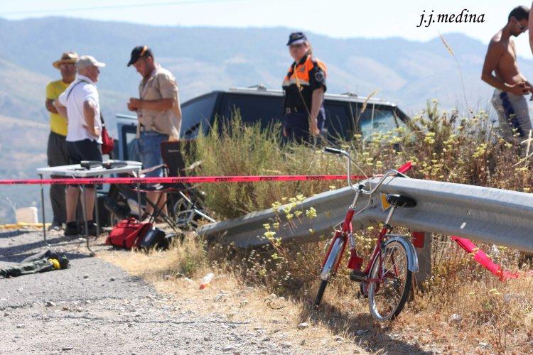 Bicicleta en  Lanjarón