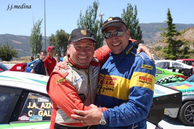 José Antonio Aznar y Mike Anderson