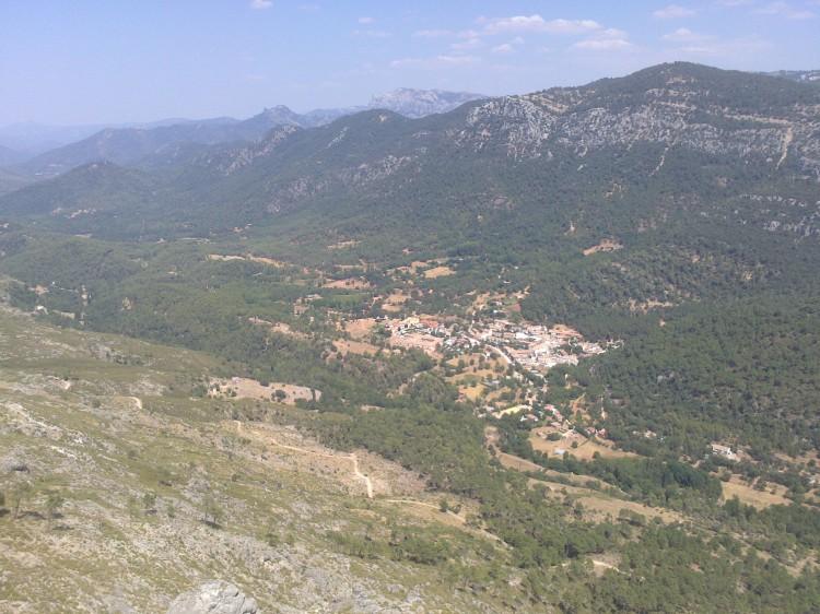 Vista desde el Puerto de las Palomas