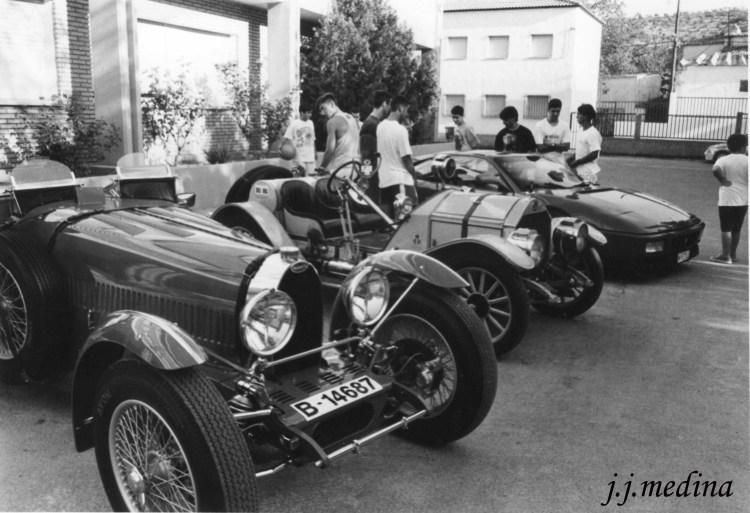 Bugatti y Mercer réplicas