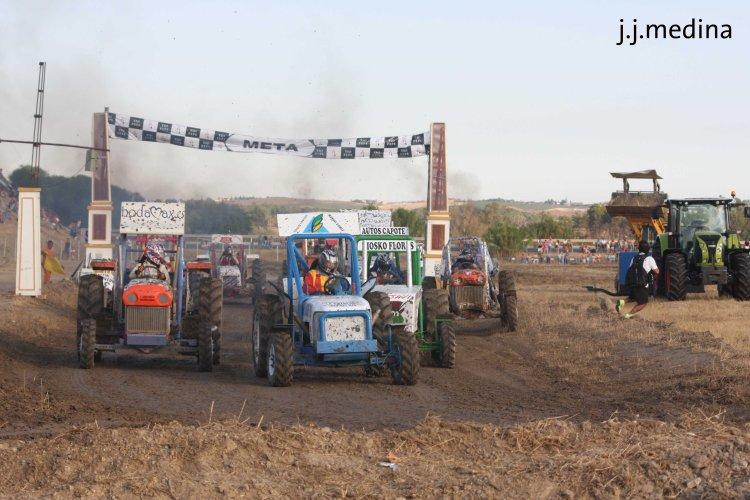 Salida final tractores