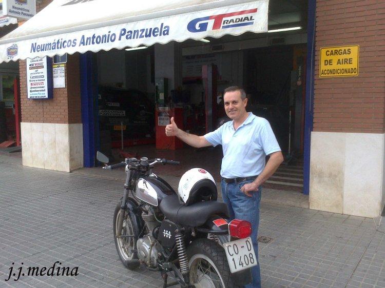 Antonio Panzuela y la Road
