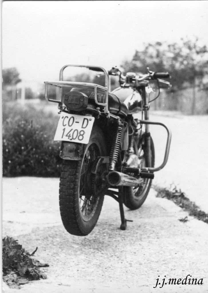 Ducati Road 350, años 80