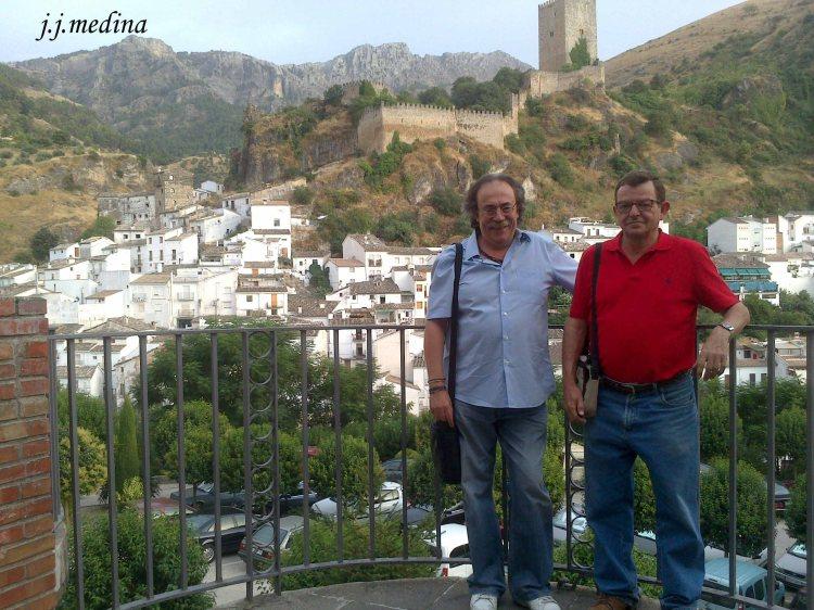 En  Cazorla con Juan Ruiz