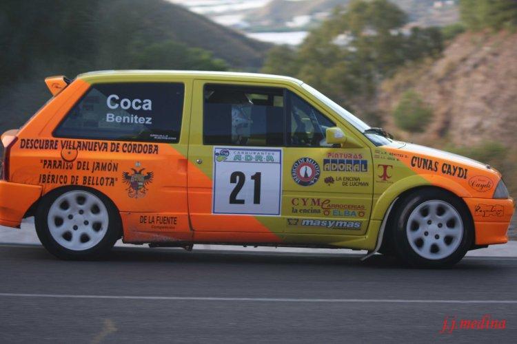 Juan Jesús Coca-Luisa Mª Benítez, Citroën AX GTI