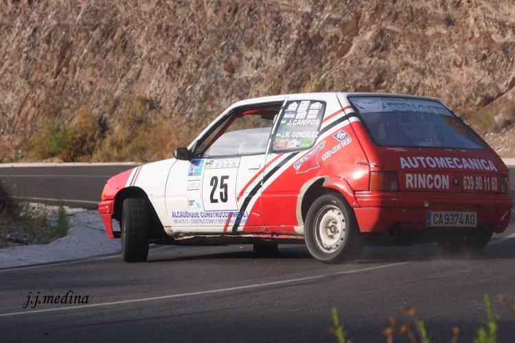 Juan Campos-Juan González, Peugeot 205 Rallye