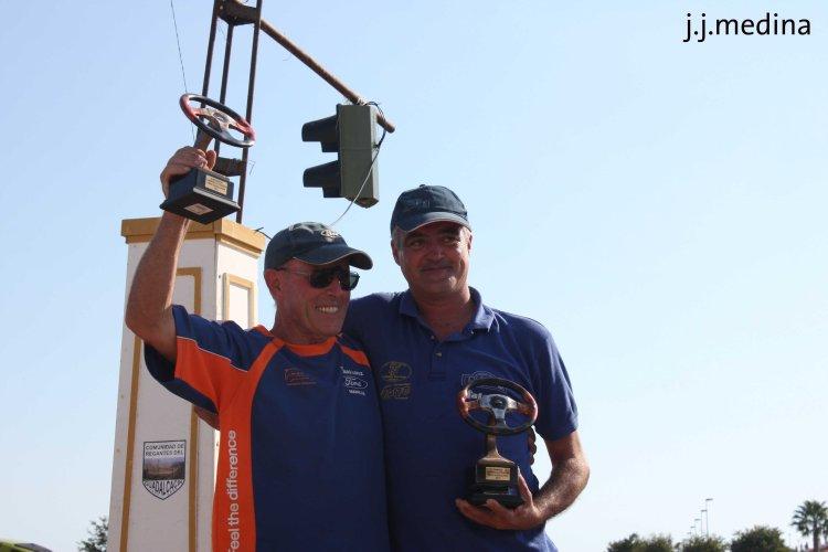 Tomás López y  José Carmona