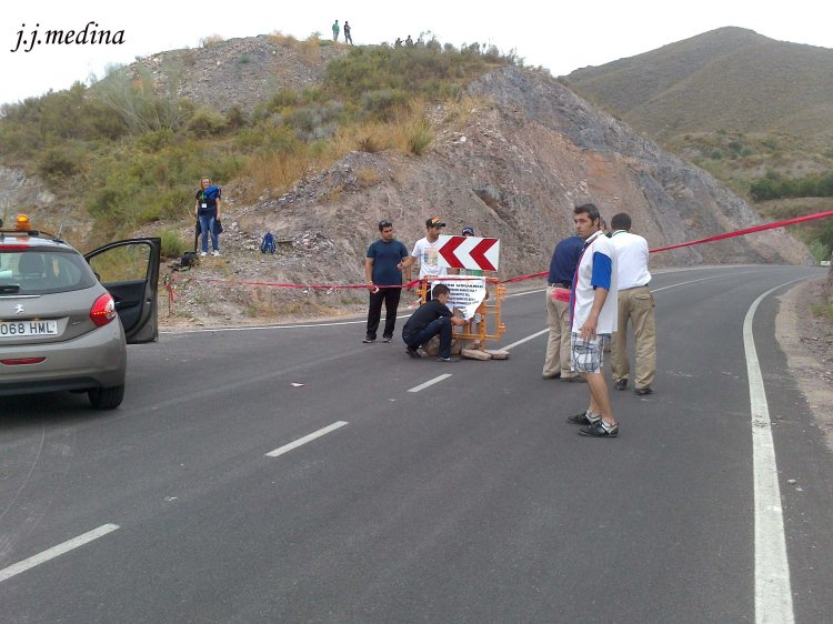Nueva señalización desvío Río Chico
