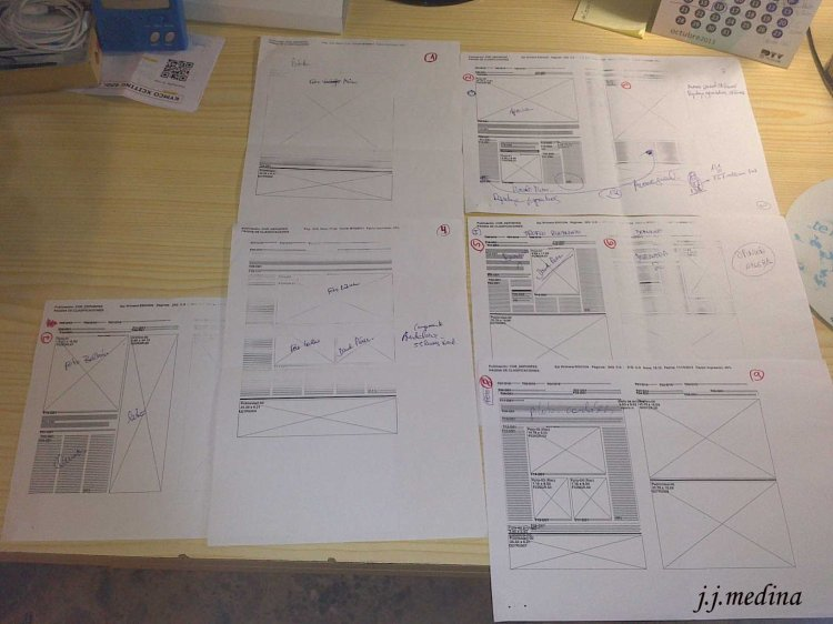 Maquetas páginas especial Sierra Morena Diario Córdoba