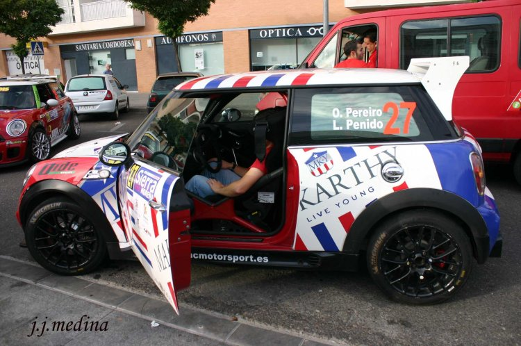 Oscar Pereiro, BMW Mini Rallye 2