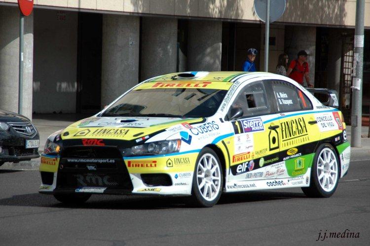 Alberto  Meira-David Váquez, Mitsubishi Evo X N plus