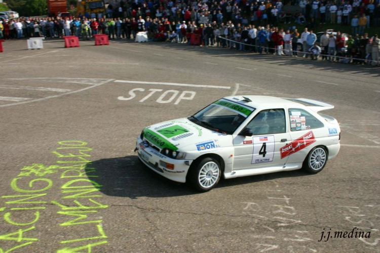 Paco López, Ford Escort Cosworth