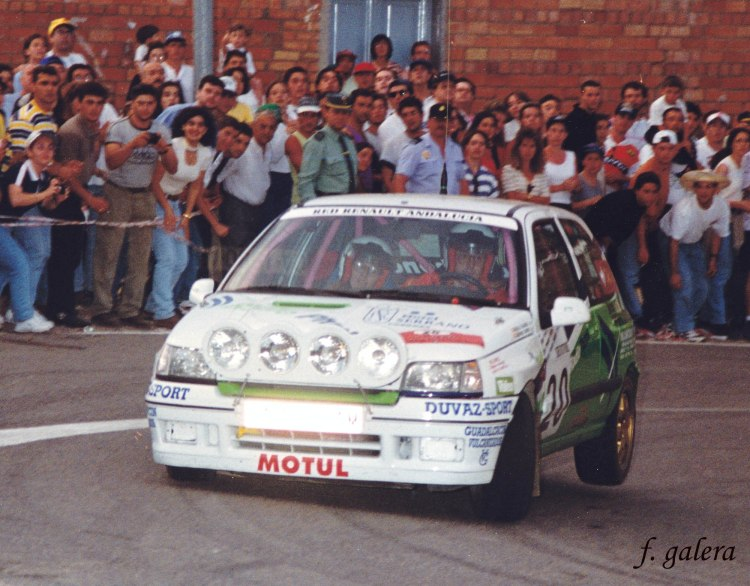 Francisco Galera-Carmen Brome, Renault Clio Williams, S M 97