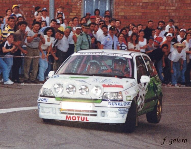 Francisco Galera-Carmen Brome, Renault Clio Williams, S M 97