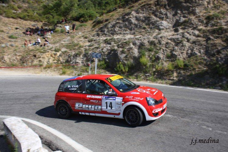Alberto García-Dani Cué, Renault Clio Sport