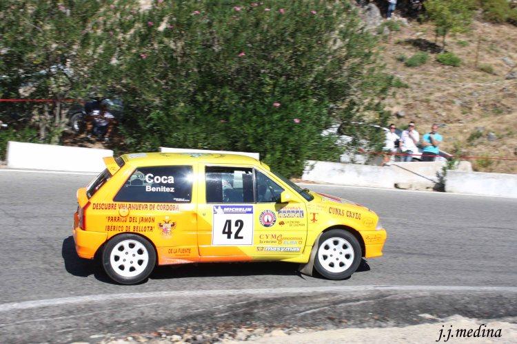 Juan Jesús  Coca-Luisa Mª Benítez, Citroën AX
