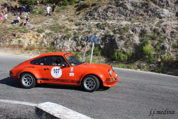 Ildefonso y Miguel Ángel García, Porsche 911 ST