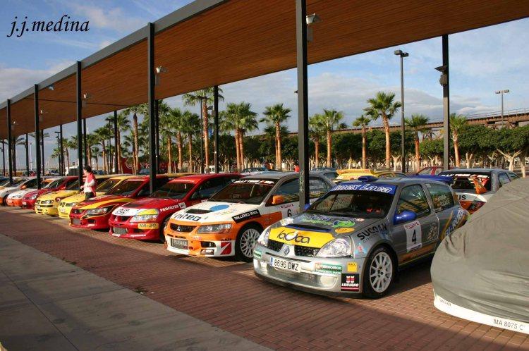 Parque Cerrado I Rallye Ciudad de Almería, 2006