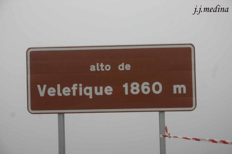 Puerto de Velefique, Almería