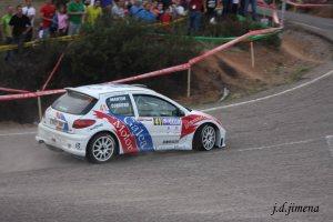 Pedro Cordero-Antonio Martín, Peugeot 206 Maxi