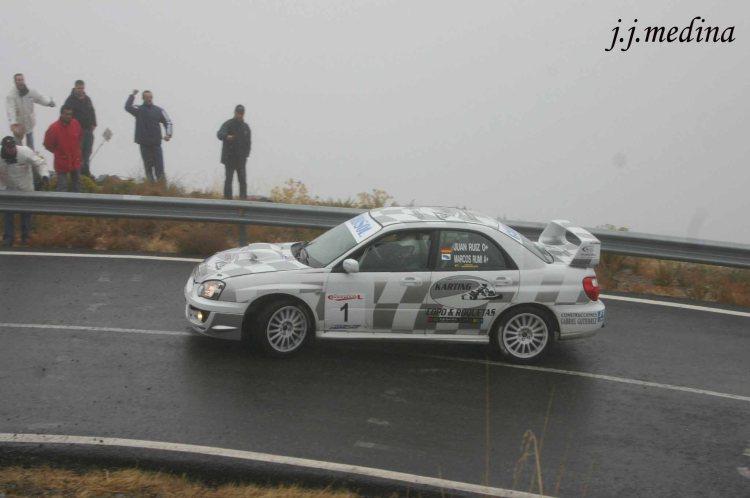 Juan Angel Ruiz-Marcos Rumi (Subaru Impreza STI)