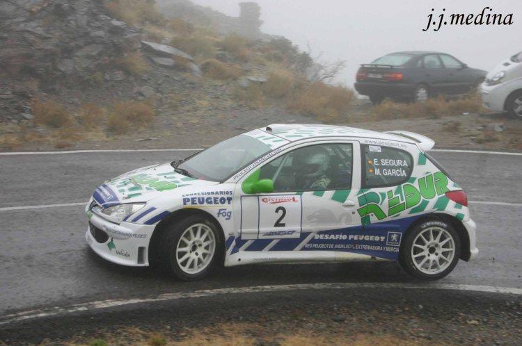 Emilio Segura-Manuel García, Peugeot 206 S1600