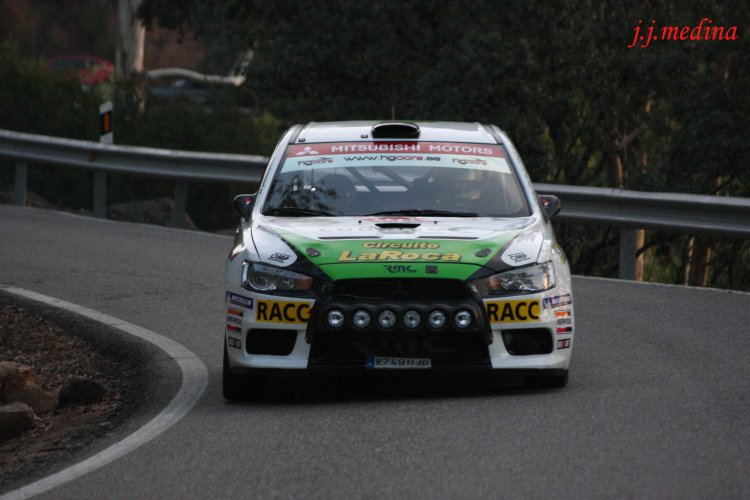 Surhayen Pernía-Juan Luis García, Mitsubishi Evo X N+