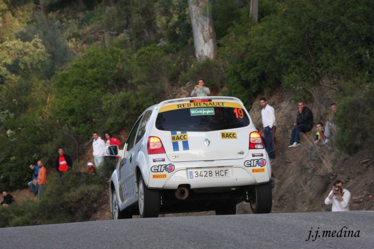 Diego Pinilla-Vanessa Valle, Renault Twingo R2