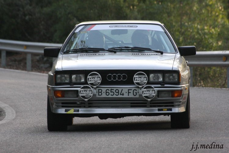 Gragorio Garnica-Valeriano Delgado, Audi Quattro