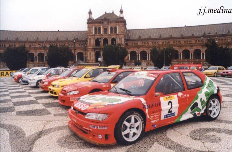 Parque cerrado Rallye de Sevilla