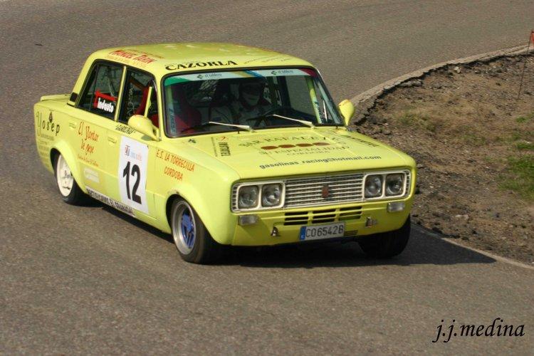 Antonio Ruiz, Seat 1430 Rallysprint de  Pozoblanco 2008