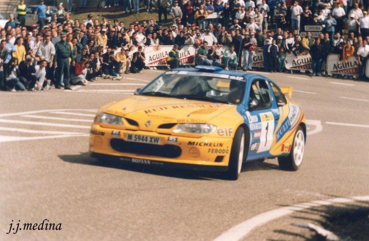 Enrique Villar, Renault Maxi Megane