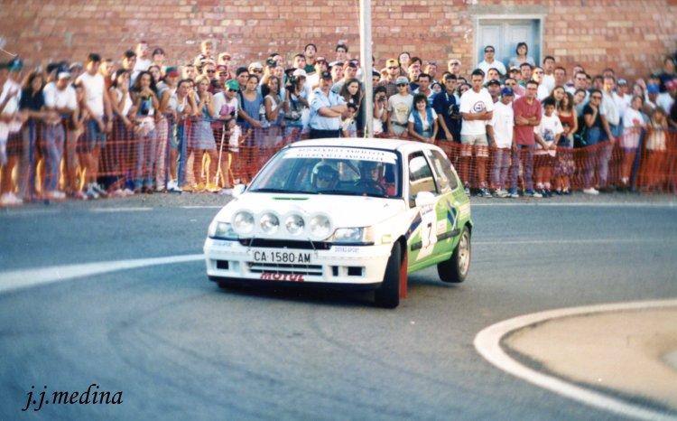 Carmen Brome, Renault Clío, Rallye Sierra Morena 98
