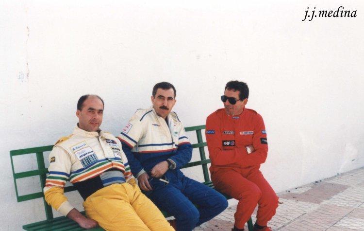 Rafael Palomafres, José Luis Toril y Enrique Villar