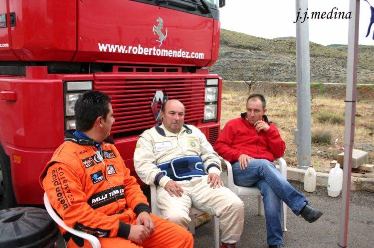 Curro AgÚí, José Carlos Lirola y Roberto Méndez