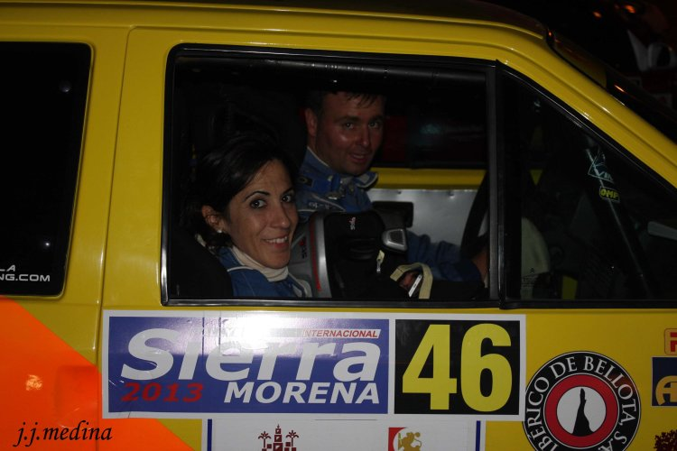 Luisa M. Benítez y Juan Jesús Coca, Rallye Sierra Morena 2013