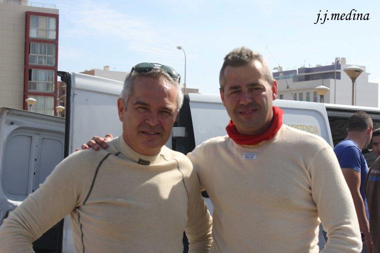 José Antonio González y Juan Ángel Ruiz, 2013